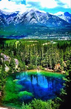 Grassi Lake,Alberta,Canada.