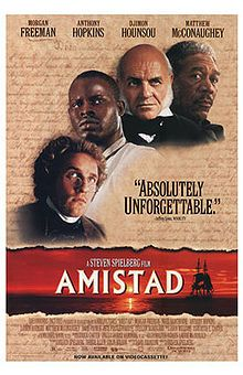 Story of a rebellion on a slave ship and subsequent trial.