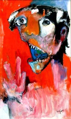Bernard Lorjou - 1968 - Hiroshima - Le Cri