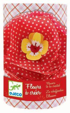 Knutselpakket 3 bloemen roze