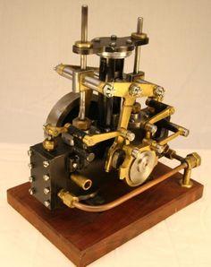 Bernays's twin-cylinder steam engine