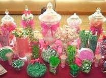 Candy bar for parties