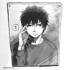 Rin Okumura, Ao No Exorcist, Manga Anime, Anime Art, Cutest Thing Ever, Anime Life, Gremlins, Tokyo Ghoul, Satan
