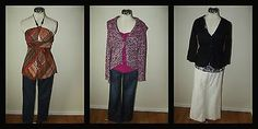 WOMENS CLOTHING LOT SIZE 4 SMALL ~ Jeans, Tops, Pants ~ WHITE HOUSE BLACK MARKET