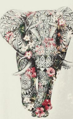 ideas for tattoo elephant color zentangle Elefante Tattoo, Elefante Hindu, Geniale Tattoos, Bild Tattoos, Elephant Love, Elephant Design, Elephant Poster, Elephant Stuff, Elephant Quotes