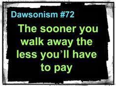 Dawsonism #72