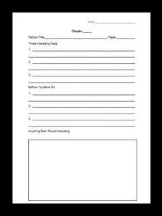 Third Grade Science Notebook Freebie! $0 ~By www.FernSmithsClassroomIdeas.com