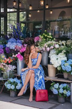 Rosie Thomas, The Londoner. Rosie Londoner, Flower Boutique, Foto Pose, Dress To Impress, Summer Outfits, Spring Summer, Summer Sun, Bridesmaid Dresses, Style Inspiration