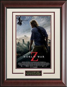 World War Z Framed Movie Poster   Official, Movie Poster, Posters