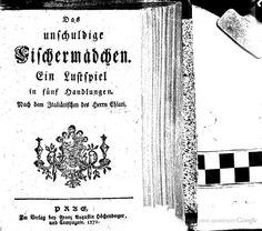 Das unschuldige Fischermädchen; ein Lustspiel in 5 Handlungen - Pietro Chiari - Knihy Google Old Books, Google, Games, Antique Books