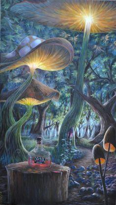 art trippy drugs lsd Halloween shrooms acid psychedelic Alice In Wonderland nature forest dmt tripouts Alice In Wonderland Artwork, Dark Alice In Wonderland, Alice In Wonderland Mushroom, Image Swag, Lsd Art, Drugs Art, Trippy Wallpaper, Iphone Wallpaper, Wallpaper Art