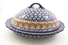 Polish Pottery stoneware is wonderful for baking artisan breads or making a roast. Beautiful from the oven to the table