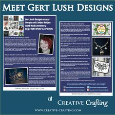 An Interview with Gert Lush Designs - Creative Crafting