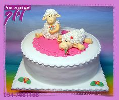 sheep cake by lilach shifman cakes, via Flickr