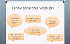 Video of the Week: Core Vocabulary 101