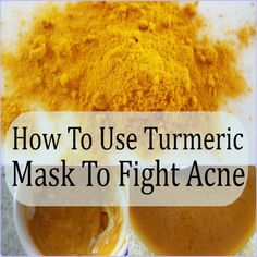 Turmeric when applied to acne-prone areas can destroy the bacteria that cause inflammation and remove excessive oil from the skin. Turmeric possesses anti-oxidant and anti-inflammatory properties, which are both beneficial in treating acne.