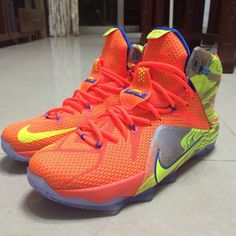 New colorway of the Lebron 12, check it out at Kicksonary.com