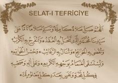 Salat-ı Tefriciye Duası Allah, Prayers, Arabic Calligraphy, Blog, Youtube, Arabic Calligraphy Art, Blogging, God, Prayer