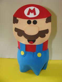 Mario Bros botella plastica