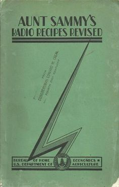 Aunt Sammy's Radio Recipes Revised 1931