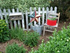 Planted Wheelbarrow and a few junk vignettes - Garden Junk Forum - GardenWeb