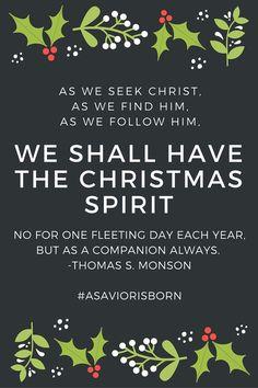 First Presidency Christmas Devotional 1992 | 19 Inspiring Christmas Quotes  From President Thomas S. Monson | Deseret News | LDS | Pinterest | Christmas  ...
