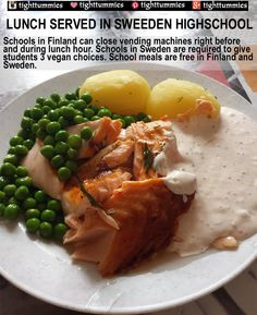 School Meals in Sweden and Finland Are So Healthy!