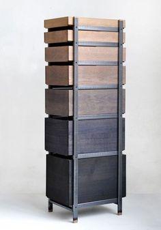 + #industrial #shades_of_nature | Tannic Acid dresser by Steven Banken