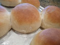 Breadmaker Hamburger Buns: This is a keeper, great for sandwiches, hotdogs, hamburgers, you name it. Soft and fluffy, not dense at all.