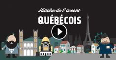 The history of the Quebecois accent Canadian French, Ap French, French History, French Teacher, Teaching French, How To Speak French, Learn French, Expression Quebecoise, Quebec French