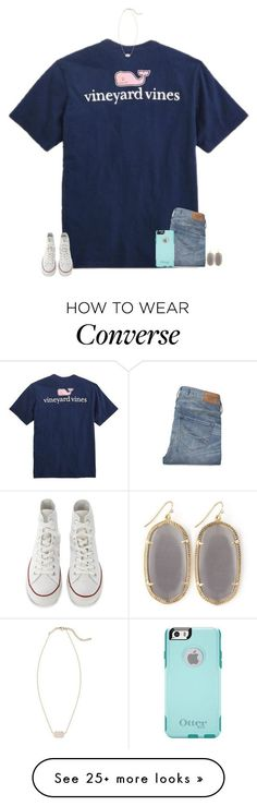 TAYLORS NEW VIDEO IN 3 MINUTES by secfashion13 on Polyvore featuring Mode, Vineyard Vines, Converse, Abercrombie Fitch, OtterBox und Kendra Scott