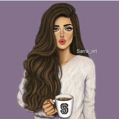 Discovered by AshKhan. Find images and videos about girl, art and girly stuff on We Heart It - the app to get lost in what you love. Best Friend Drawings, Girly Drawings, Girl Cartoon, Cartoon Art, Sarra Art, Chica Cool, Girly M, Duckface, Cute Girl Drawing