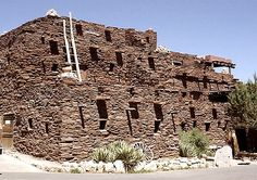 Mary Colter designed Hopi House in 1905. Her success with local, natural materials became a benchmark for future landmark architecture and remains a beacon for Organic Architects world-wide.Hopi House