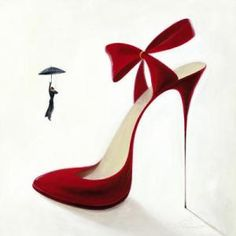 Red shoe: could you really walk on these?