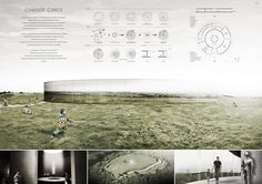 Projects presented to the Camelot Research & Visitors Center International Architecture Competition for Students Organized by ARCHmedium
