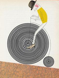 Illustrated by Bohumil Štěpán, from Ludvík Aškenazy's Wacky Fairy Tales (Praštěné pohádky), Prague 1965.