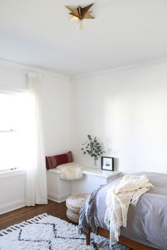Comforting minimal room aesthetic