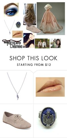 """""""meeting Katherine"""" by lostprincessofthesea ❤ liked on Polyvore featuring Diane Kordas, Lucky Brand and Dulce"""