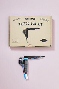 HOME MADE TATTOO GUN KIT