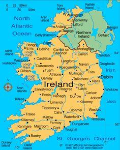 Map Of Ireland Kenmare.48 Popular Ireland Map Images Ireland Map Ireland Irish