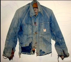 Vintage denim I have my Grandfathers jacket and it looks just like this!