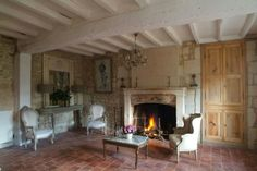 Past Jobs by Renaissance London Antique Fireplace in Living Room #renaissancelondon