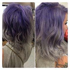 Purple & grey... like I wanted to do