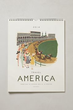 Illustrations 2014 Calendar - anthropologie.com