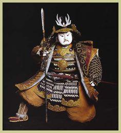 Musha Ningyo. Japanese warrior dolls, made for boy's day.