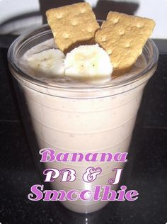 Banana, PB & J Smoothie Recipe