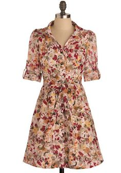 This was once called the Sunnydale dress.  Turning Leaves Dress, #ModCloth