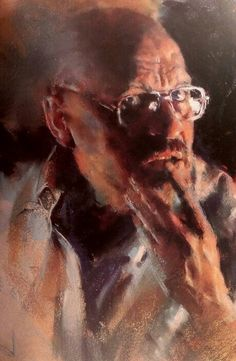 """Harley Brown   """"The Real Me""""              from  Harley Brown's  'eternal truths for every artist'    'self portrait'   my favorite  'pastel artist'"""