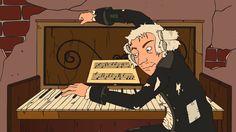 Los grandes clásicos Morzart, Beethoven y Vivaldi al estilo Musitramas