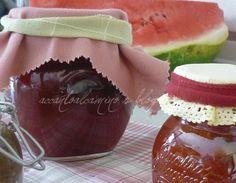 Marmellata anguria e vaniglia (Watermelon jam and vanilla)
